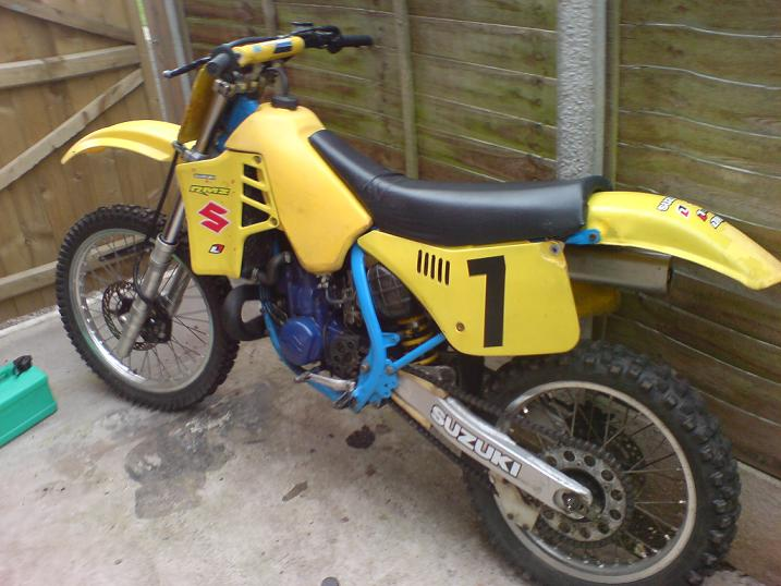 Suzuki 125cc dirt bike for sale