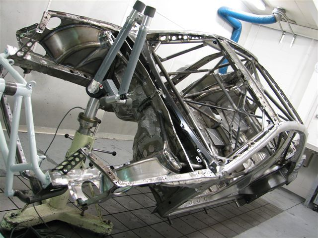 Info Request Space Frame Chassis