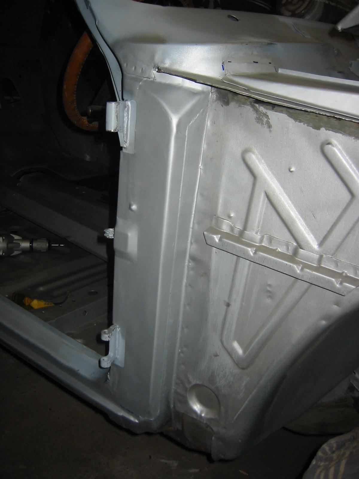 Mk1 Escort Door Pillar Rust