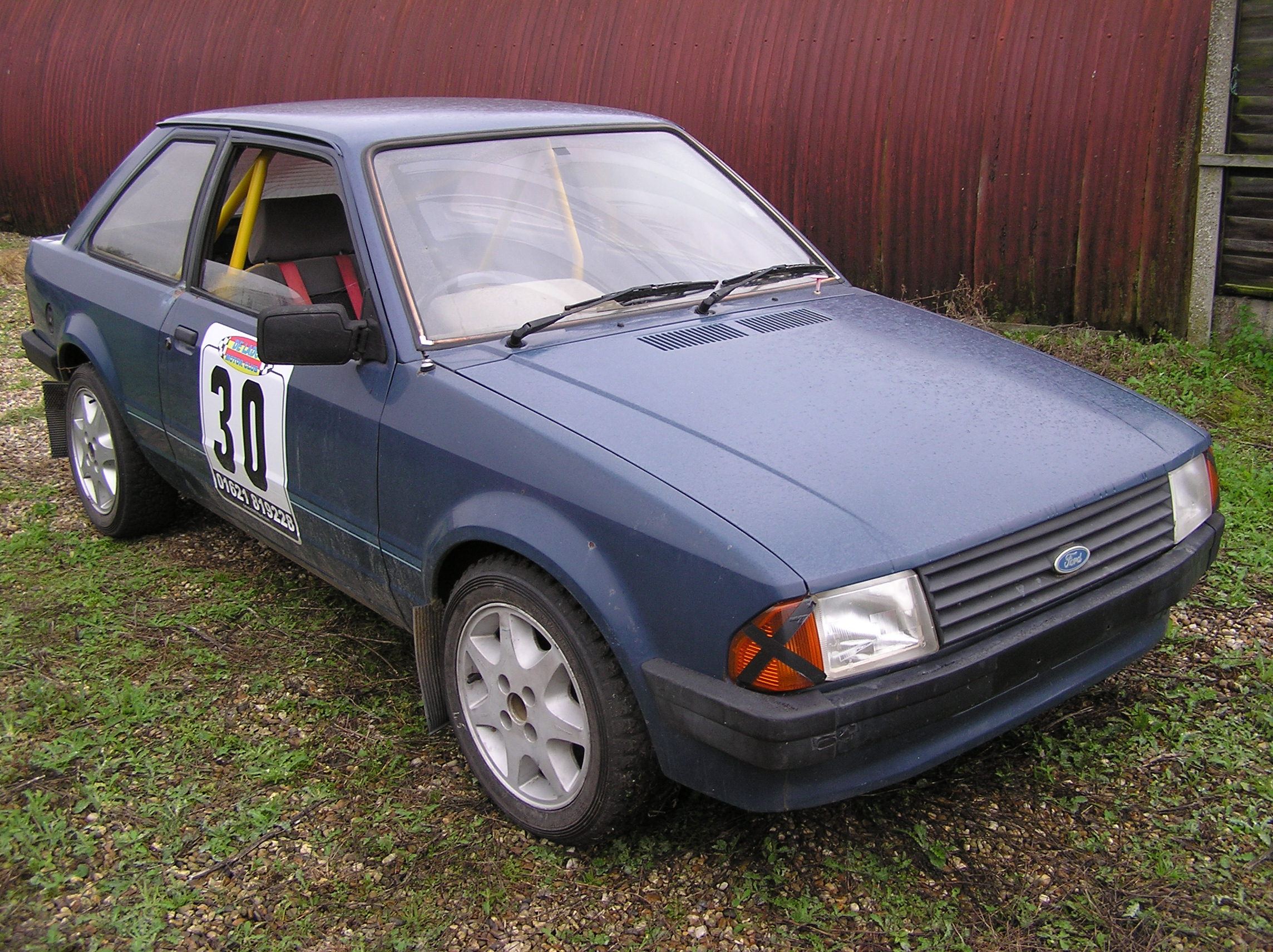 Ford Escort mk3 budget race/rally car or road?