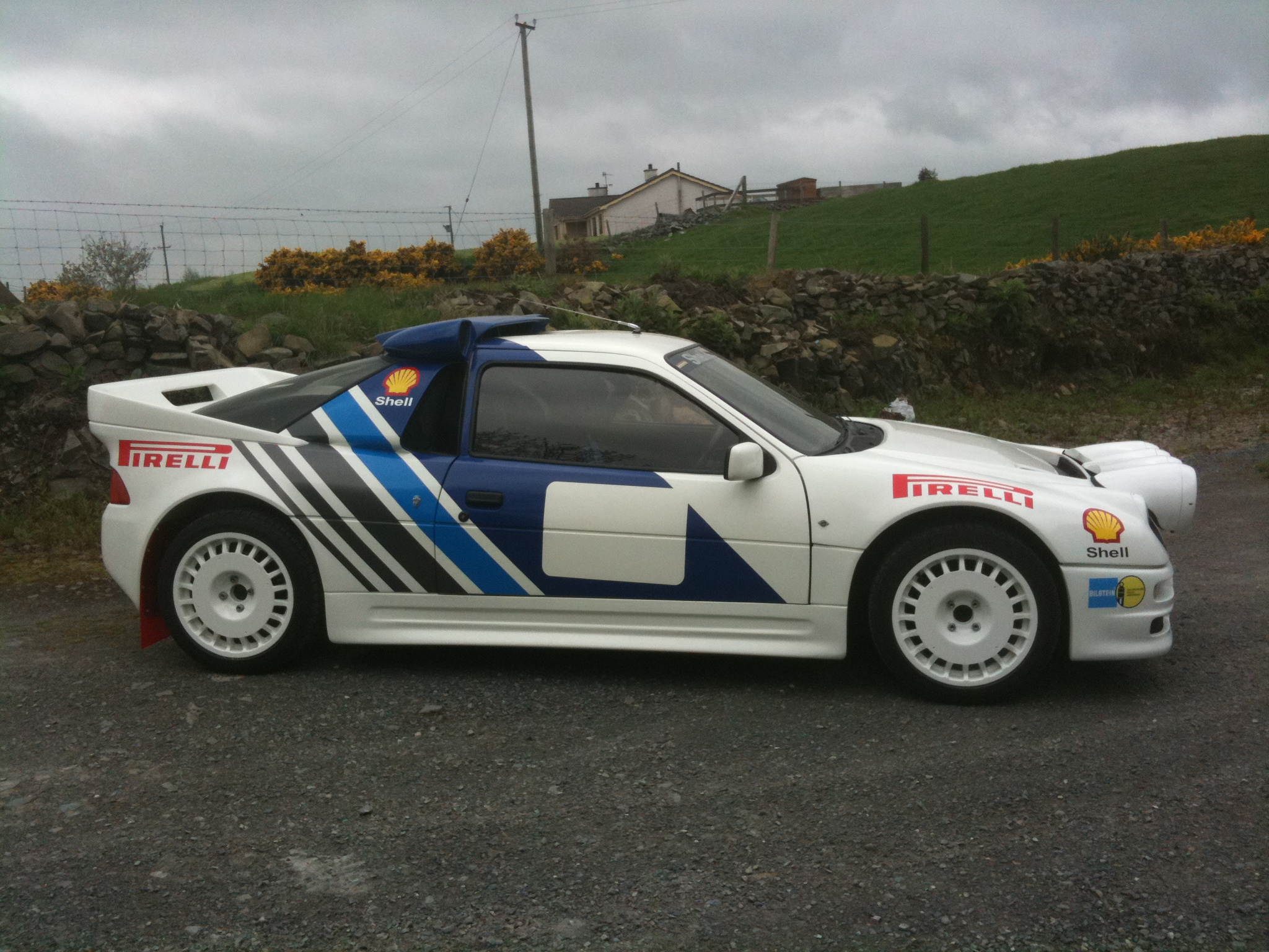 This is my RS200 replica  mid-engine cosworth power  coilovers all round . & My Ford RS200 replica  with rally livery markmcfarlin.com