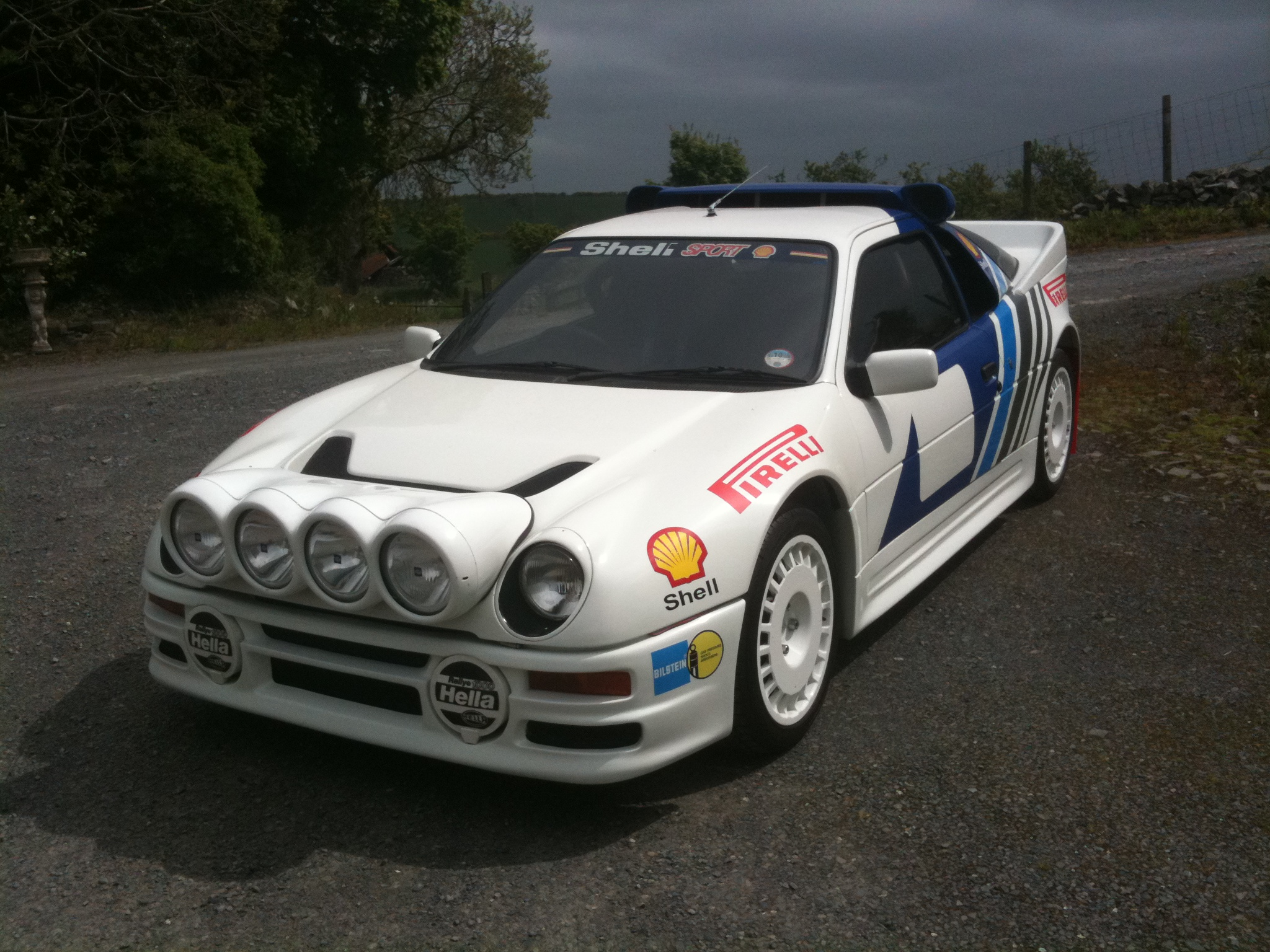 my ford rs200 replica with rally livery. Black Bedroom Furniture Sets. Home Design Ideas