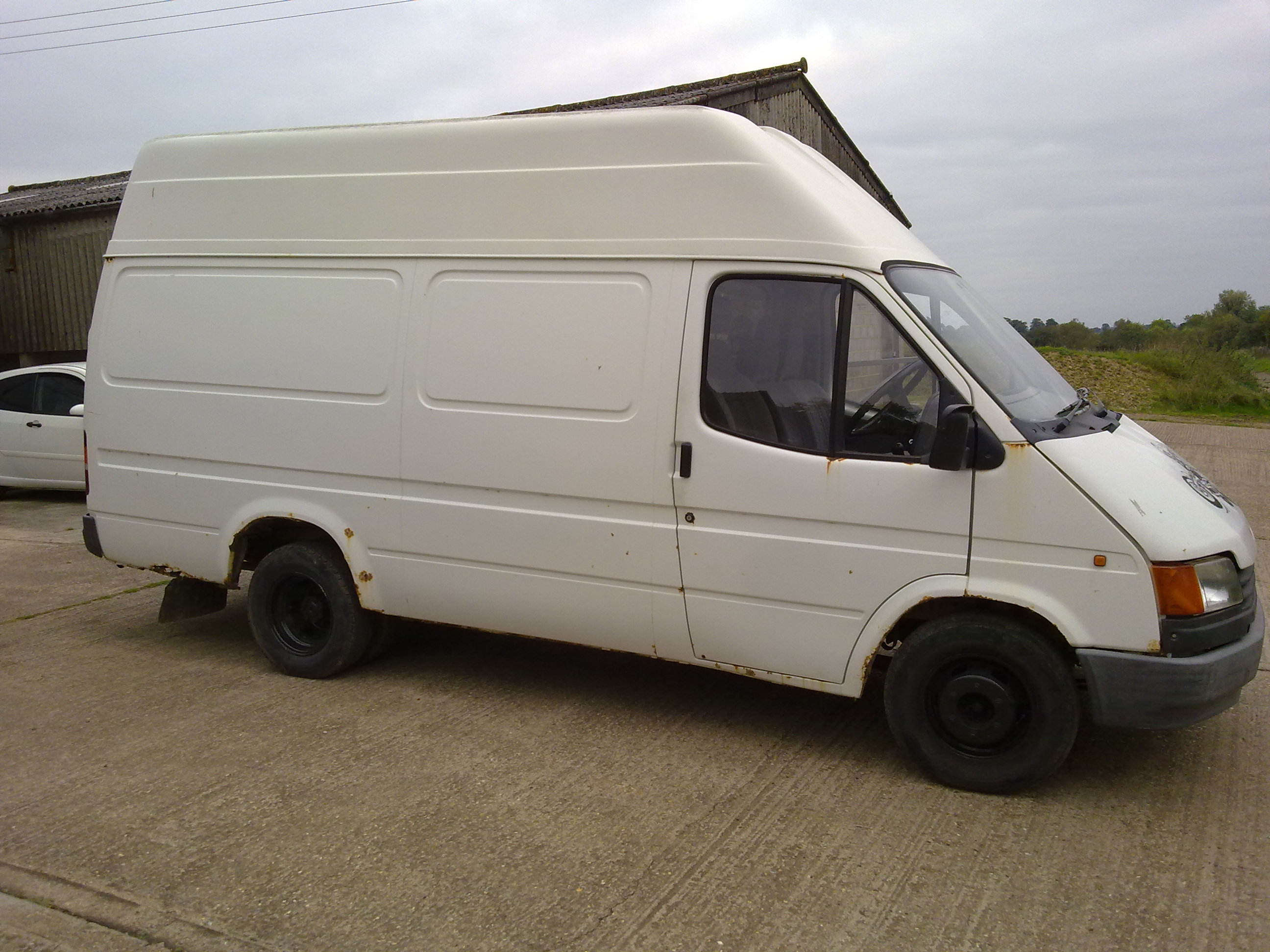 Ford Transit 250 >> Transit MK3, 190. Pinto spares or repair