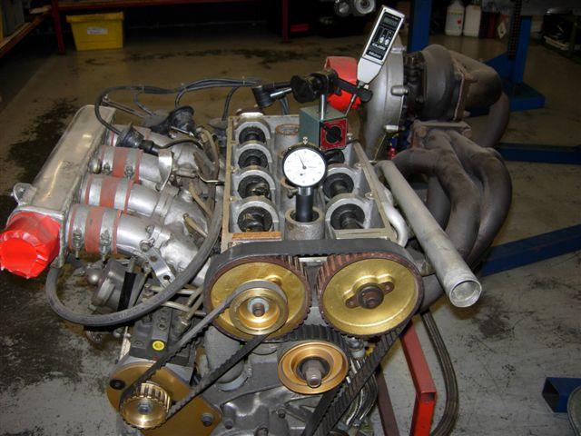 Zakspeed Capri Engine