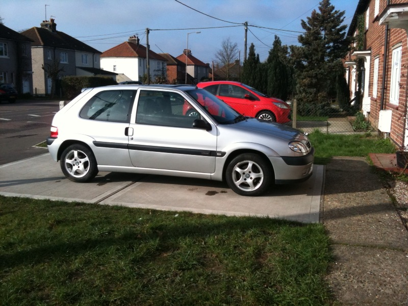 citreon saxo furio 1 4 51 plate in silver vts but cheap insurance sold. Black Bedroom Furniture Sets. Home Design Ideas