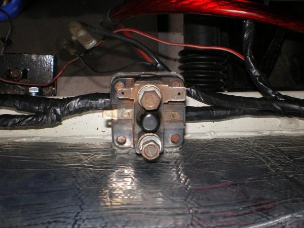 Starter Solenoid Wiring Help