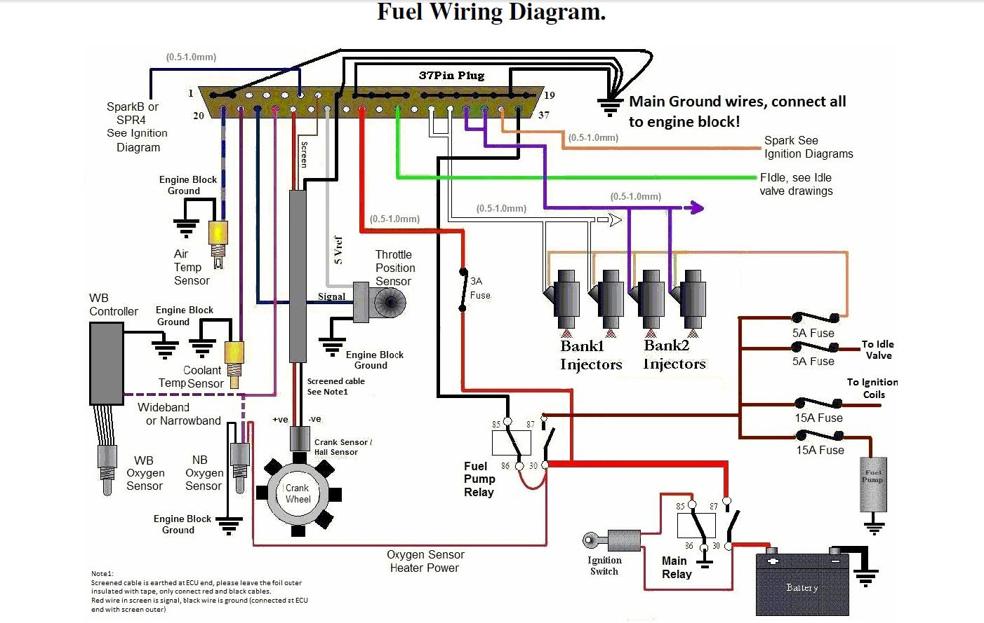 97 ford f 250 fuel injection wiring diagram