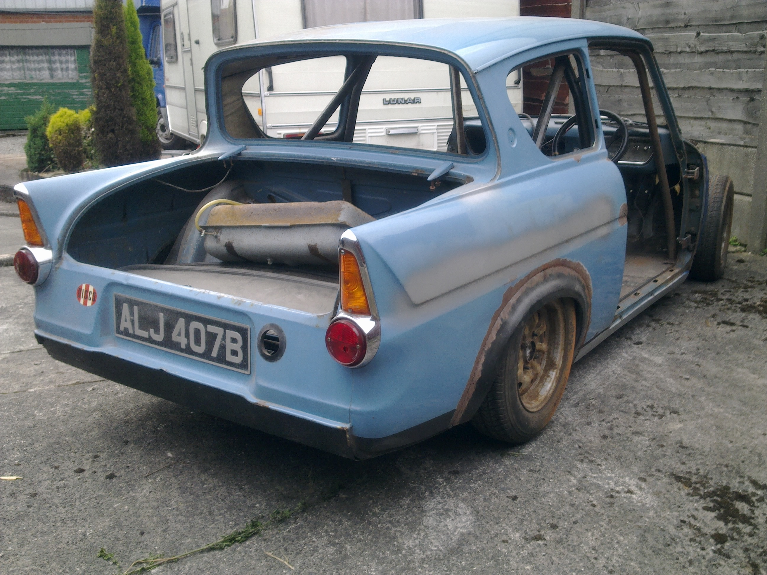 anglia 105e unfinished project