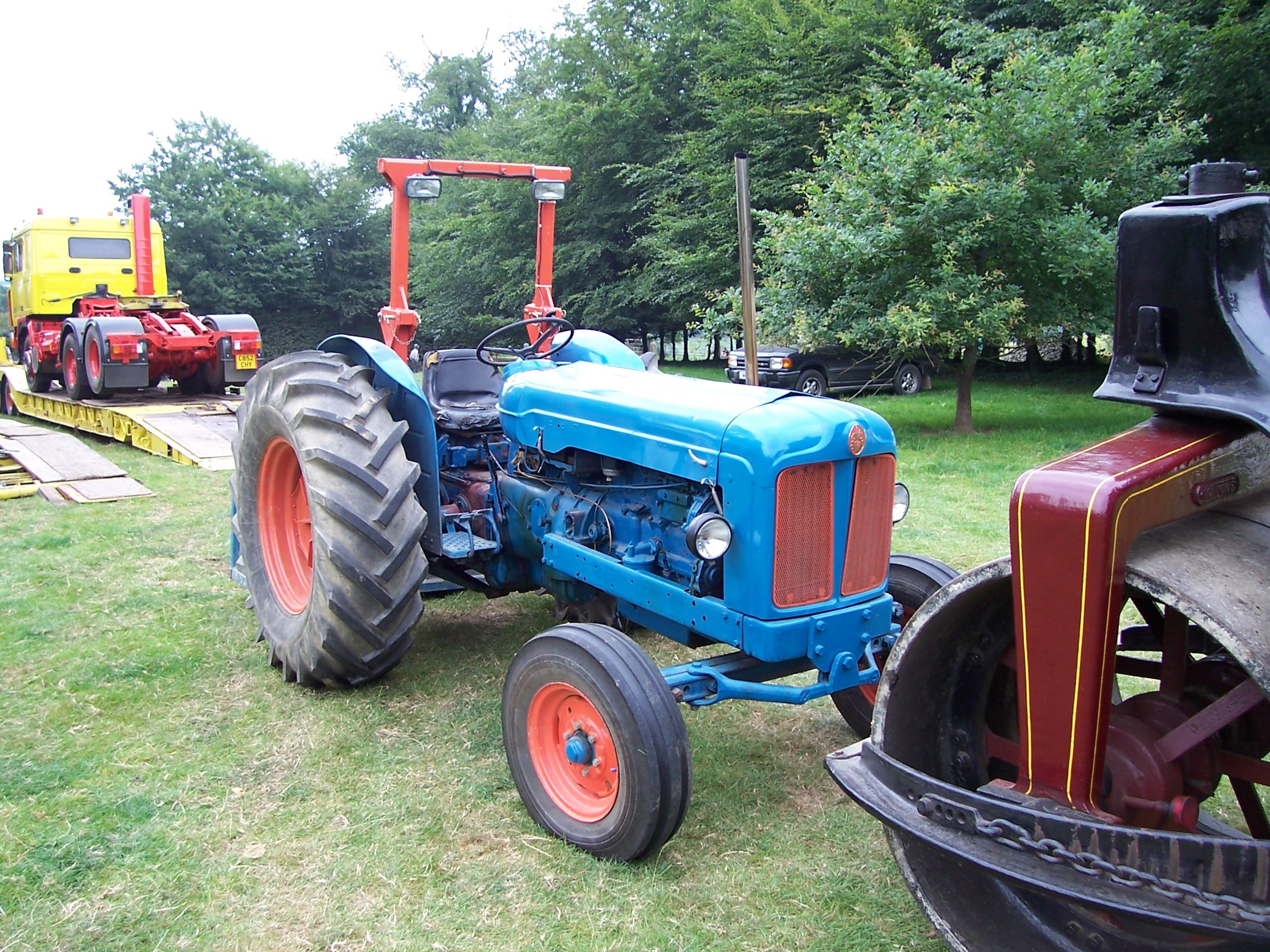 Ford 5000 Tractor Engine : Ford tractor
