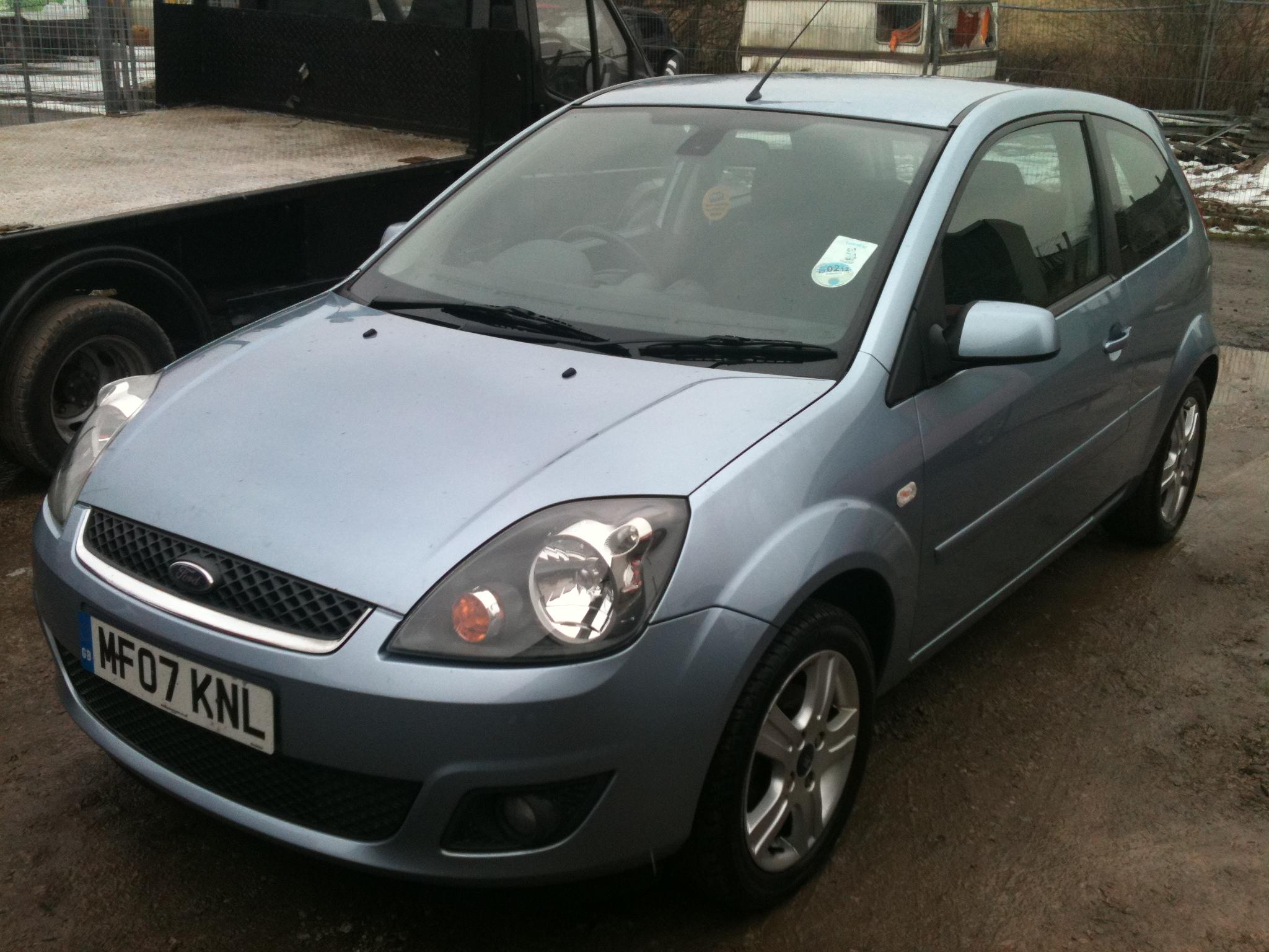 2007  U0026 39 07 U0026 39  Ford Fiesta 1 25 Zetec Climate  Sold