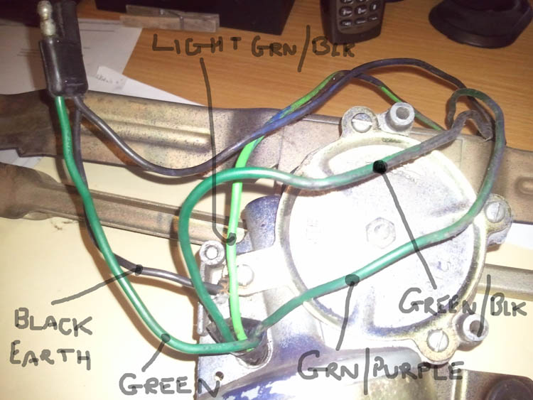 Wiper Wires on Ford Wiring Diagrams