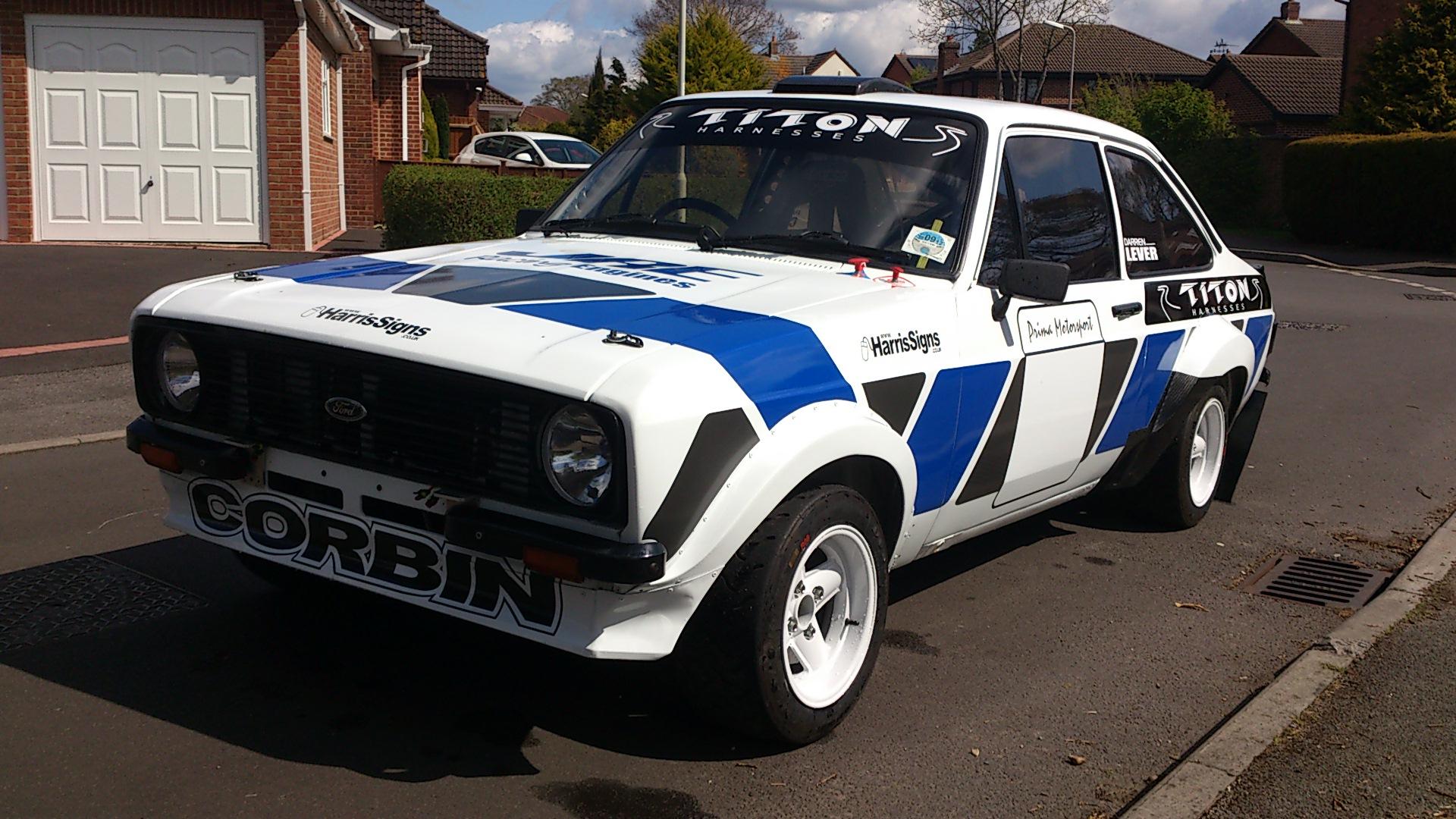 My MK2 Rally car - Page 7