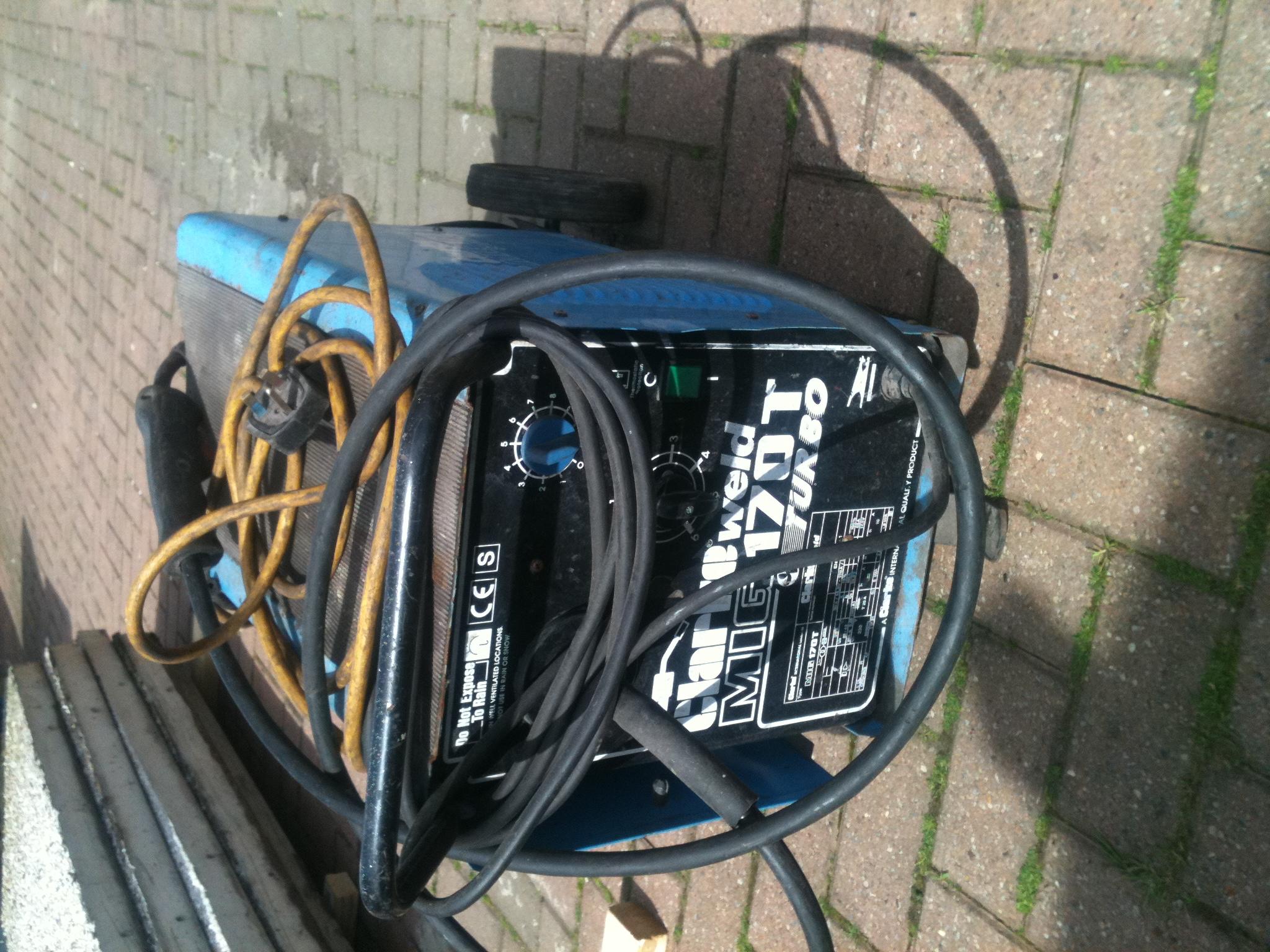 Mig Welder For Sale >> Clarke 170T turbo mig welder