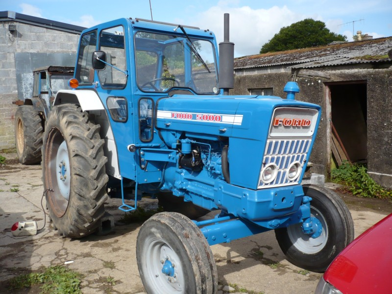 Ford 5000 Tractor Specs : Ford tractor turbo