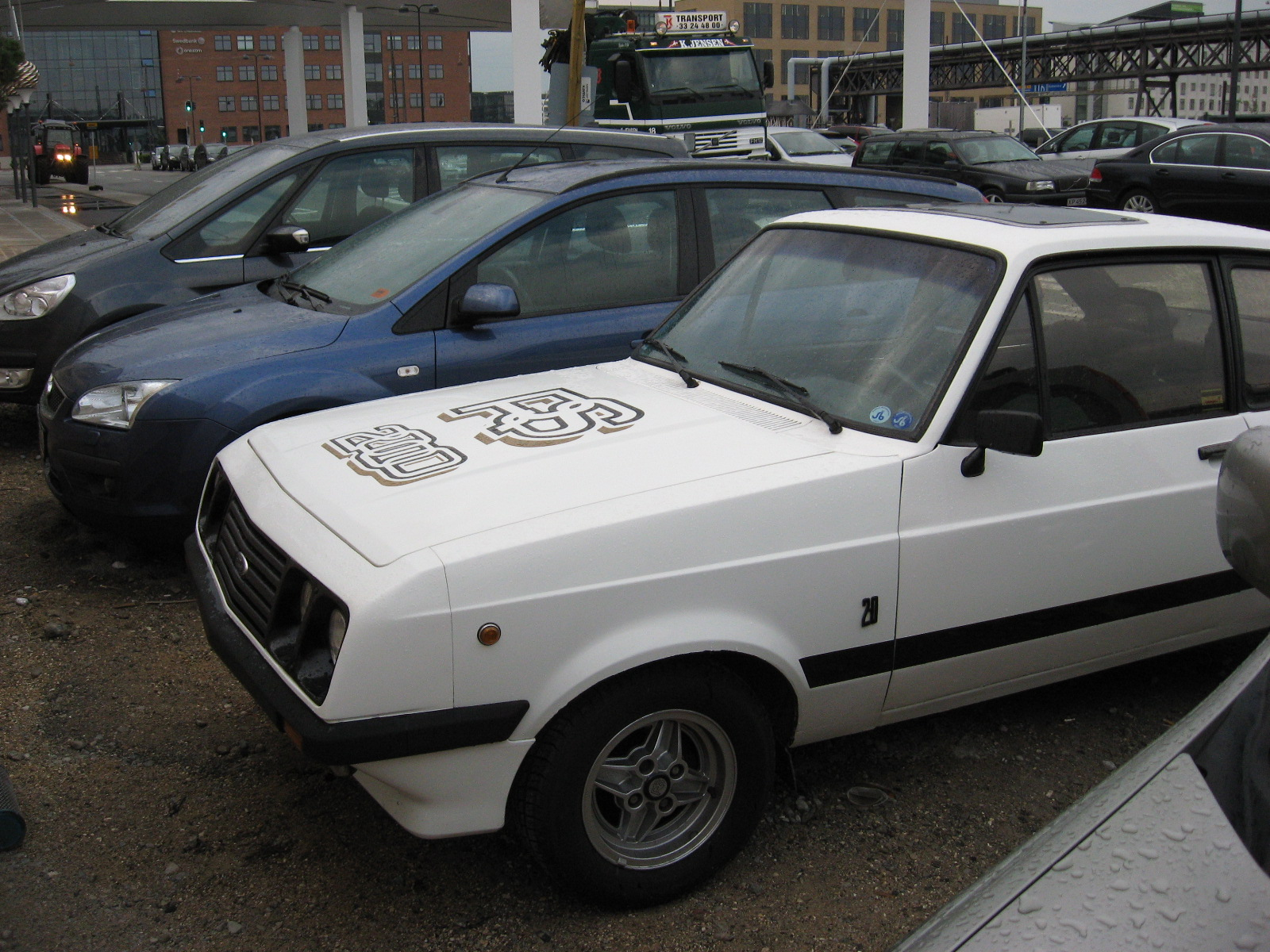 Accident Cars For Sale In Denmark: Danish Rs2000 Mk2 Scarface