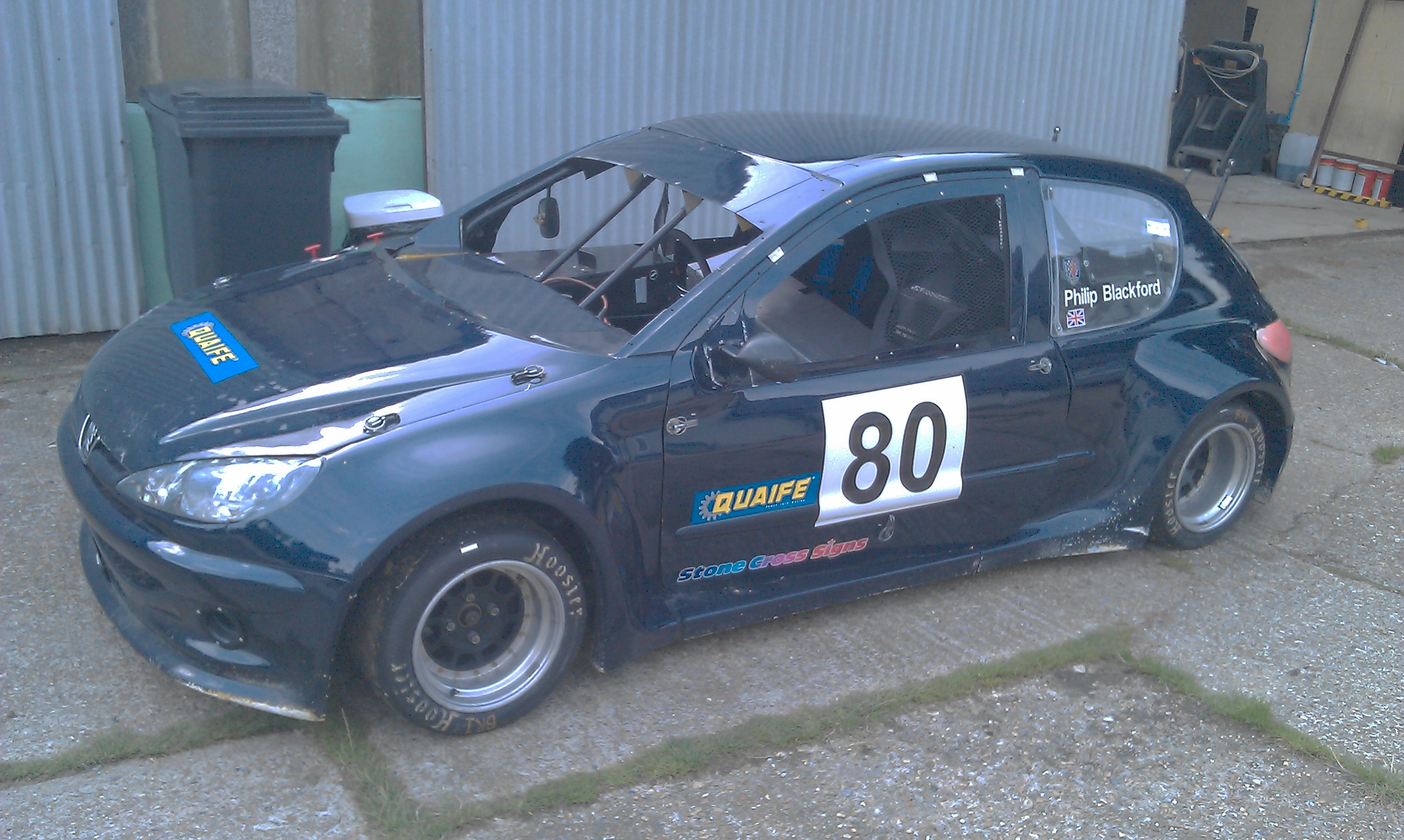 peugeot 206 silhouette race car