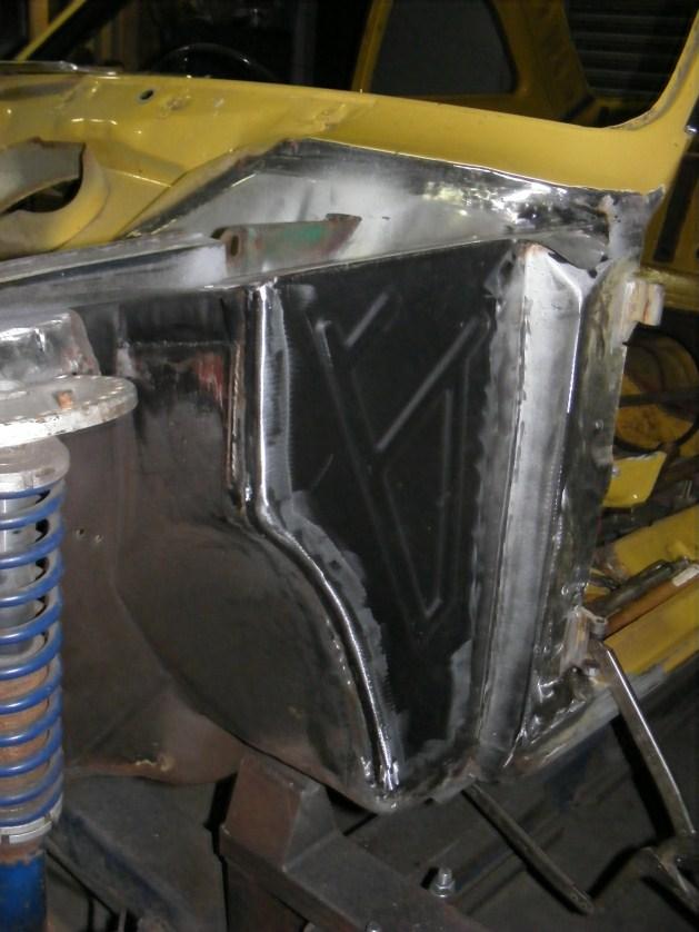 Derek S Mk1 Front End Rebuild