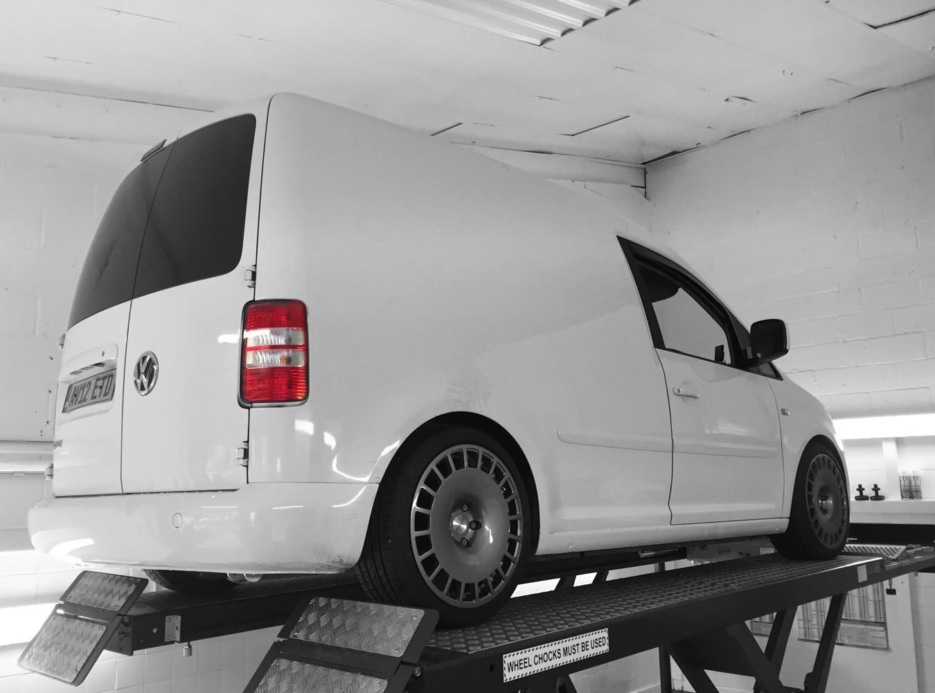 2012 VW Caddy 2k Van (SOLD)
