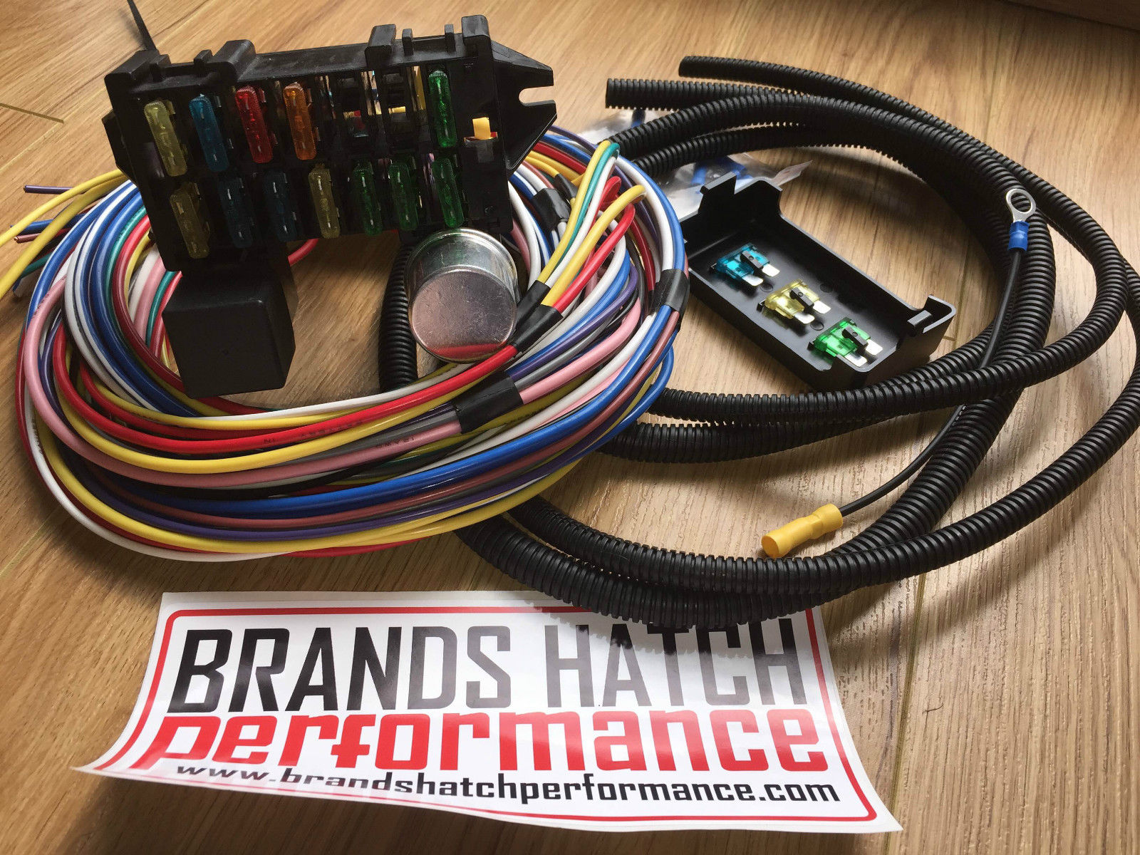 classic car kit car hot rod wiring looms rh turbosport co uk Auto Color Wire Loom Cloth Wire Loom