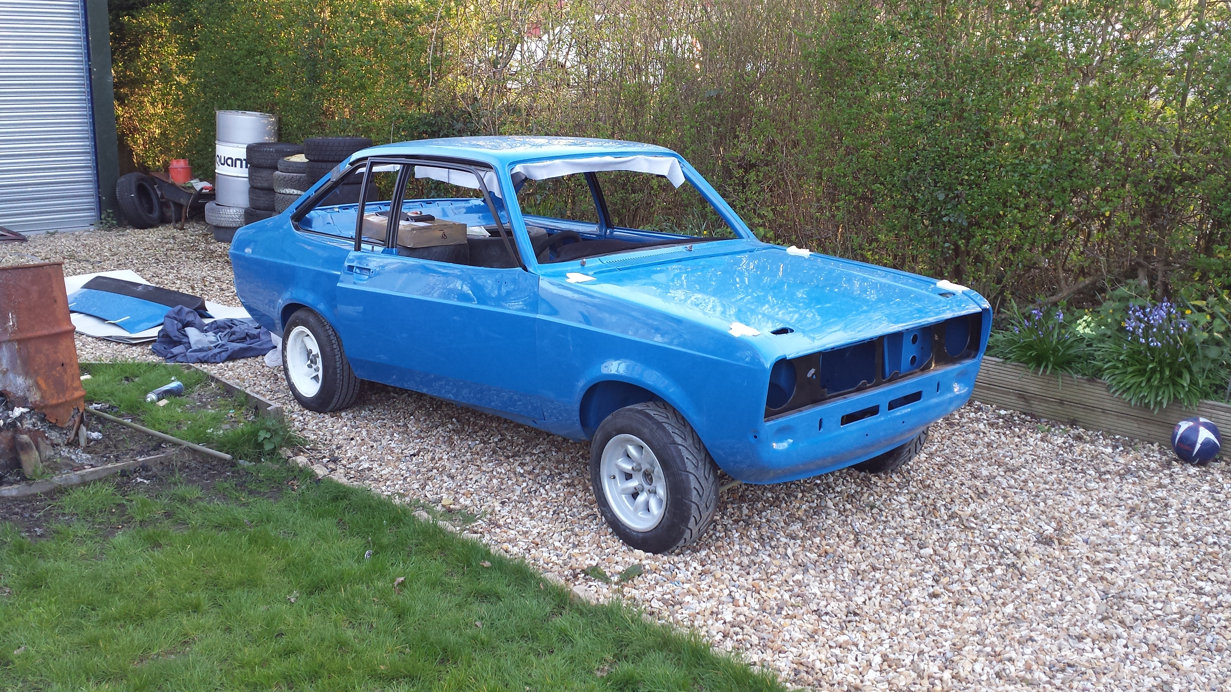 Escort mk2 road/stage rally car